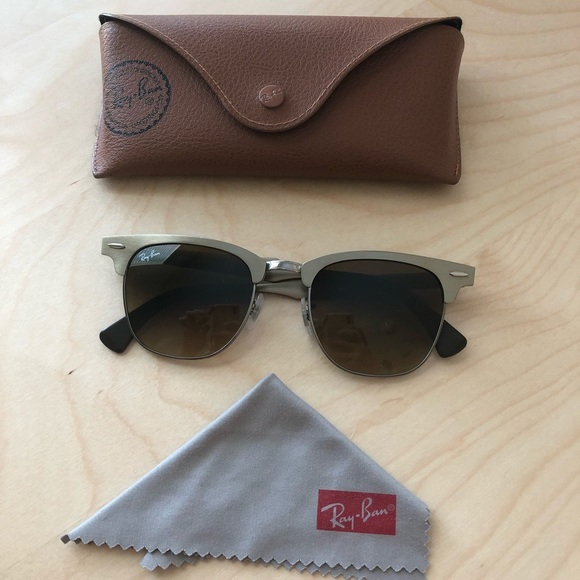 2bdd12101722c ... flash lenses gradient ray ban clubmaster sunglasses price 1f684 25817   clearance ray ban rb3507 139 85 clubmaster aluminum da926 091bb